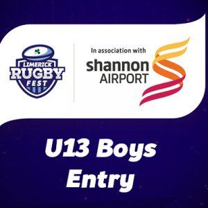 U13 Team Entry